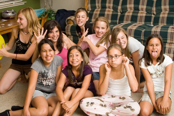 Half Dozen Roses: Sarahs 11th Birthday Party