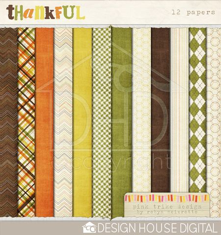 Thankful-digital-papers