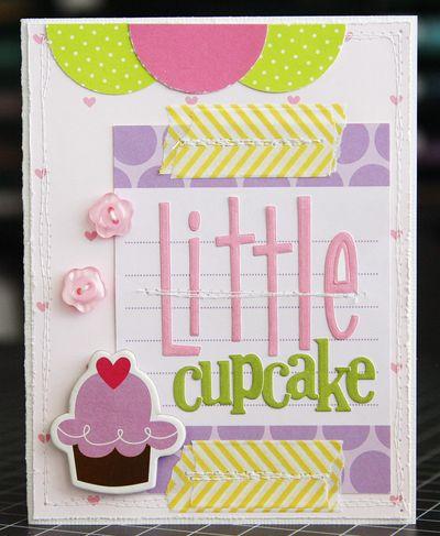 LauraVegas_BabyGirl_LittleCupcakeCard