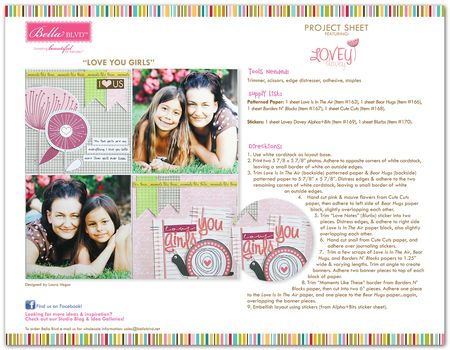 LOVEY DOVEY PROJECT SHEET2