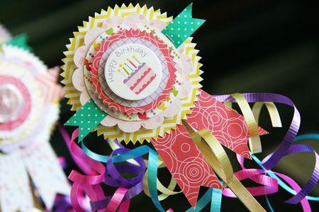 LauraVegas_BirthdayGirl_PaperAwardRibbons_AlteredProject5
