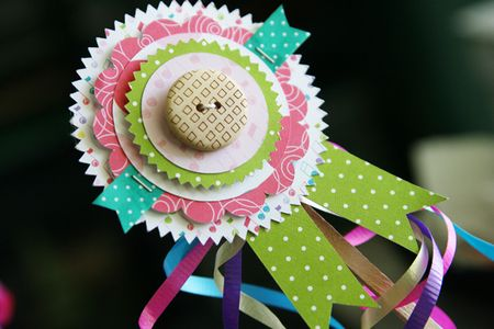 LauraVegas_BirthdayGirl_PaperAwardRibbons_AlteredProject6