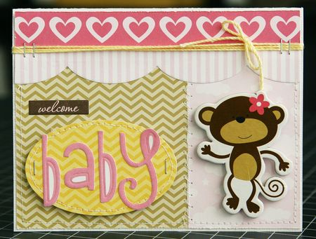 LauraVegas_BabyGirl_WelcomeBabyCard