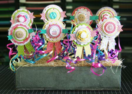 LauraVegas_BirthdayGirl_PaperAwardRibbons_AlteredProject