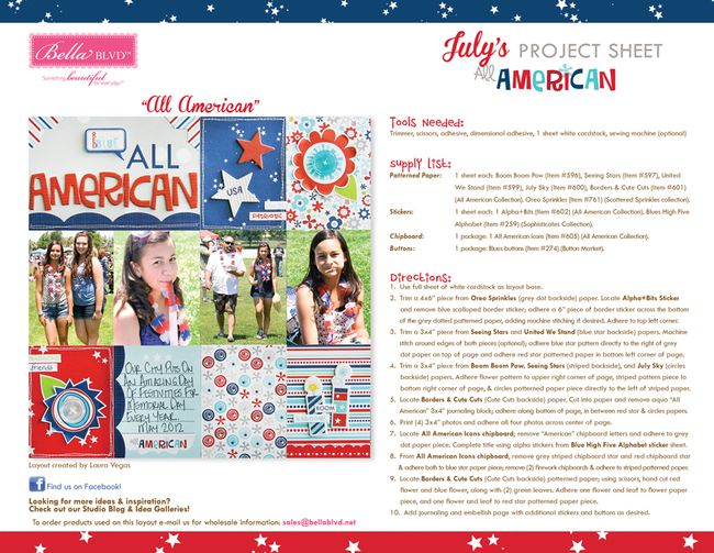 7-2014 BBLVD ALL AMERICAN PROJECT SHEET BLOG