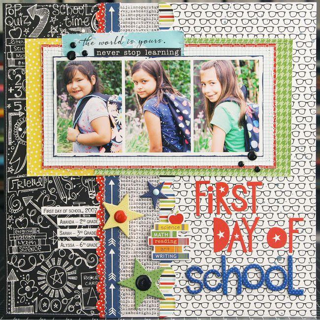 LauraVegas_FirstDayOfSchool