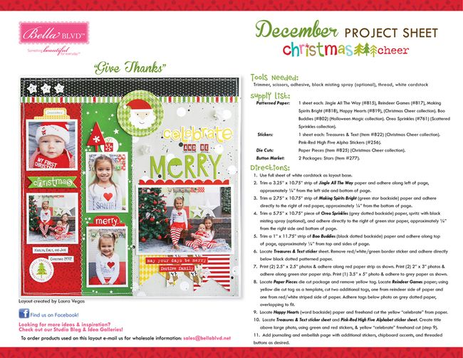 12-2014 BBLVD PROJECT SHEET CHRISTMAS CHEER