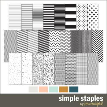 Simple-staples